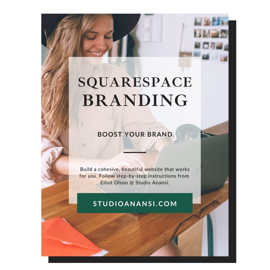 "Cover of guide titled ""Squarespace Branding: Boost Your Brand"""