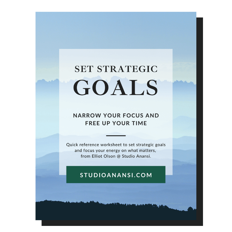 "Cover of Guide to ""Set Strategic Goals: Narrow your focus and free up your time."""