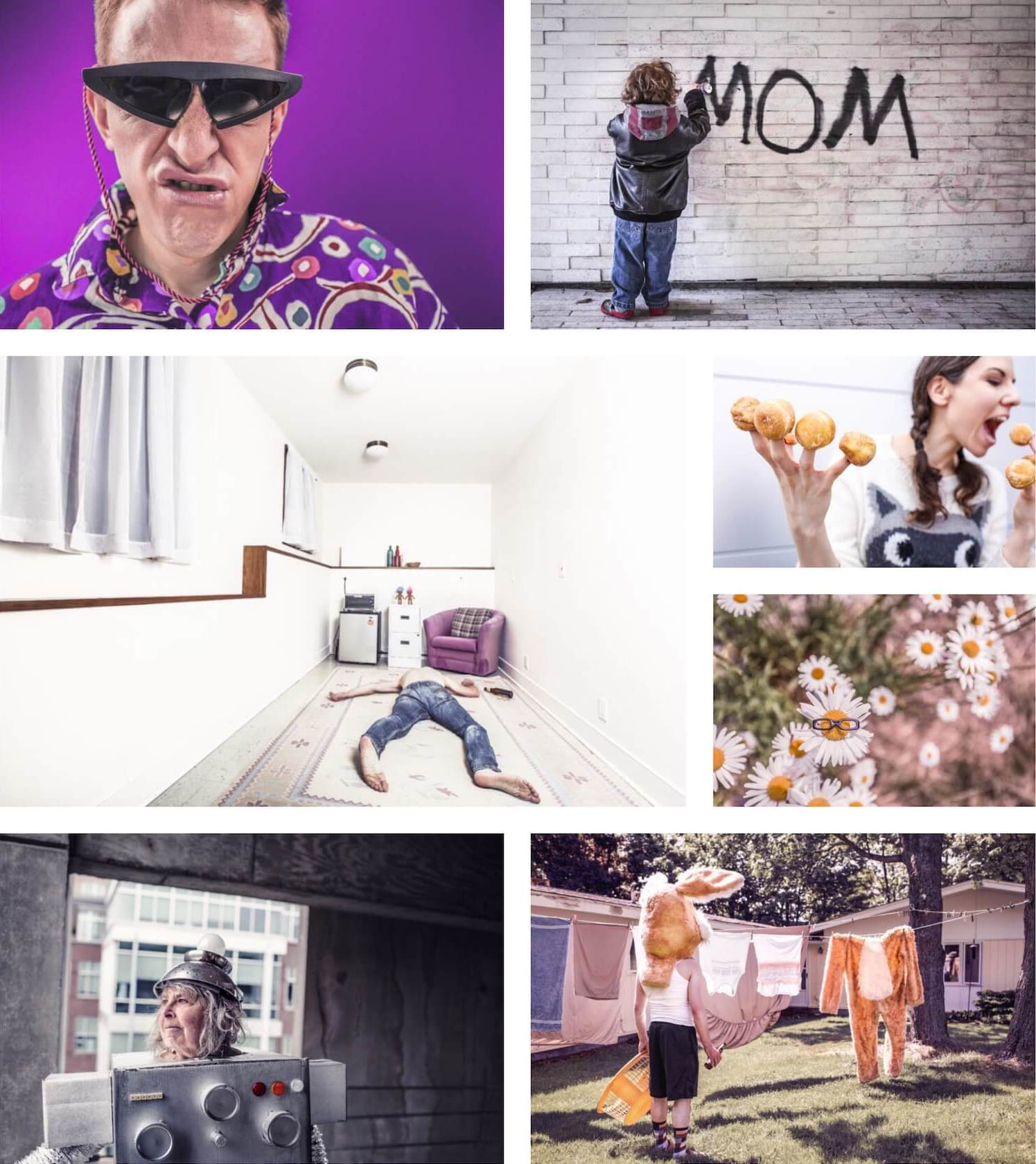Collection of photos from gratisography