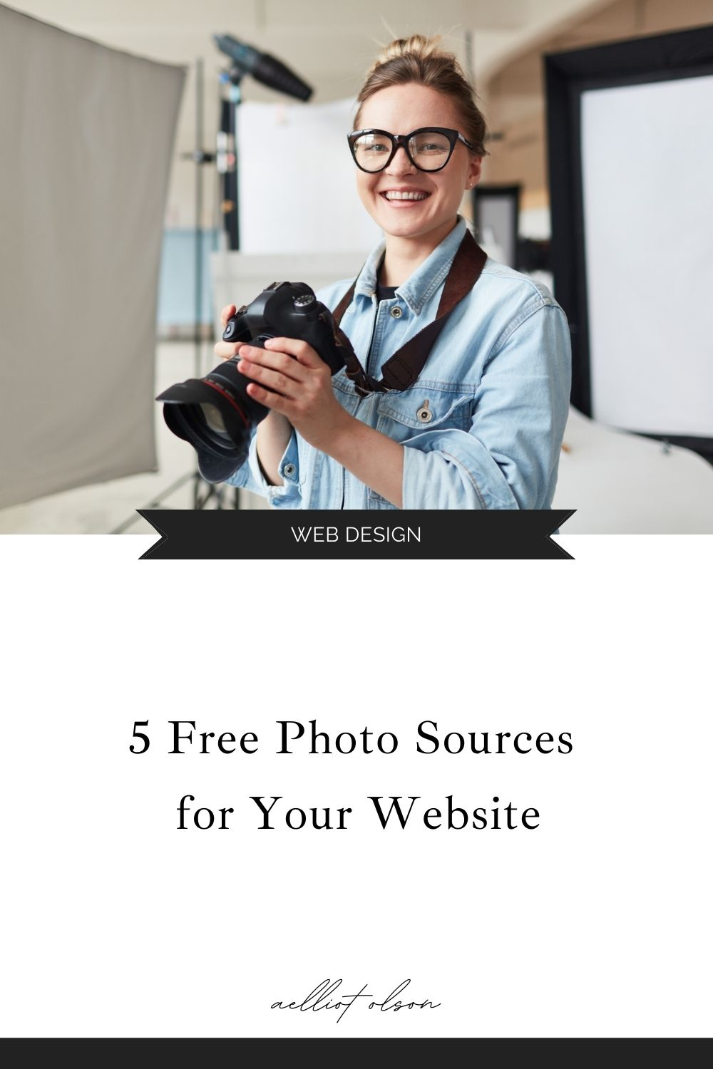 5 free photo sources for your website