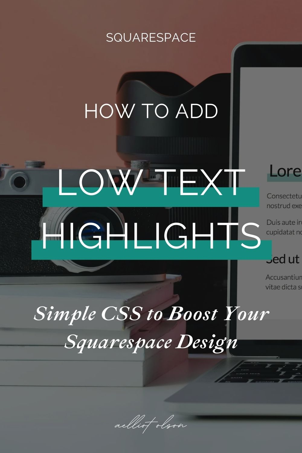 squarespace add highlight text css post