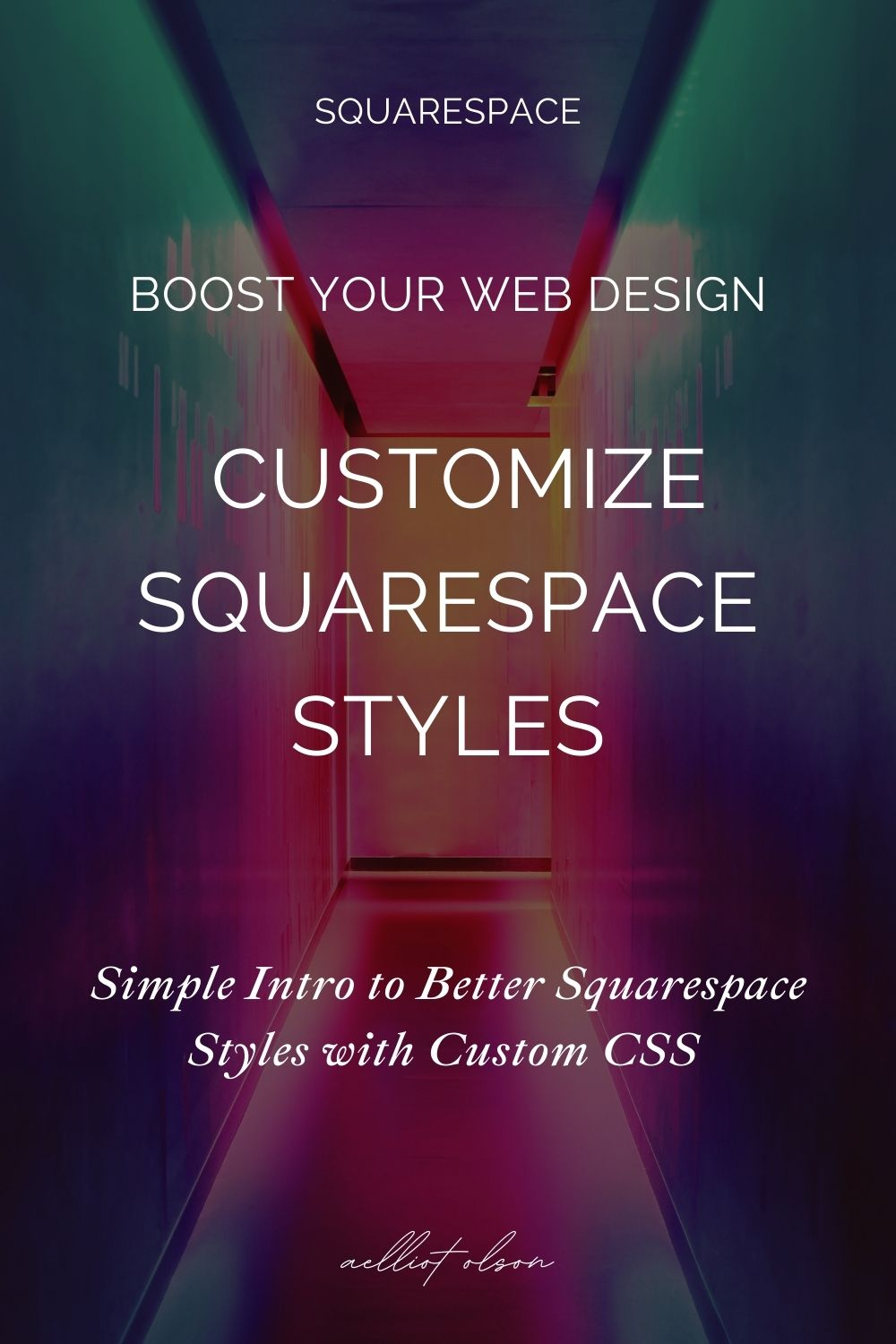 squarespace easy css custom style article