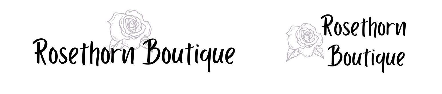 Logos for fictional boutique shop
