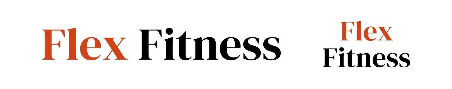 Example of logos for fictional gym