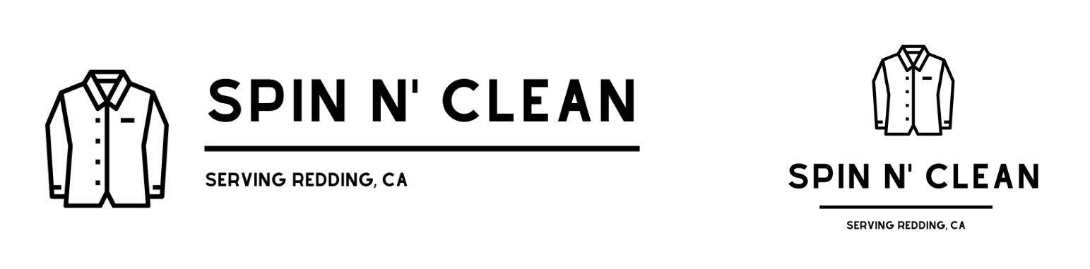 Logos for fictional laundromat