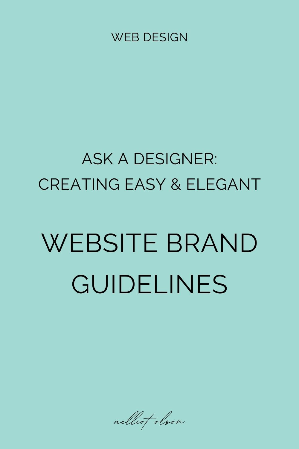 website brand guidelines template guide article