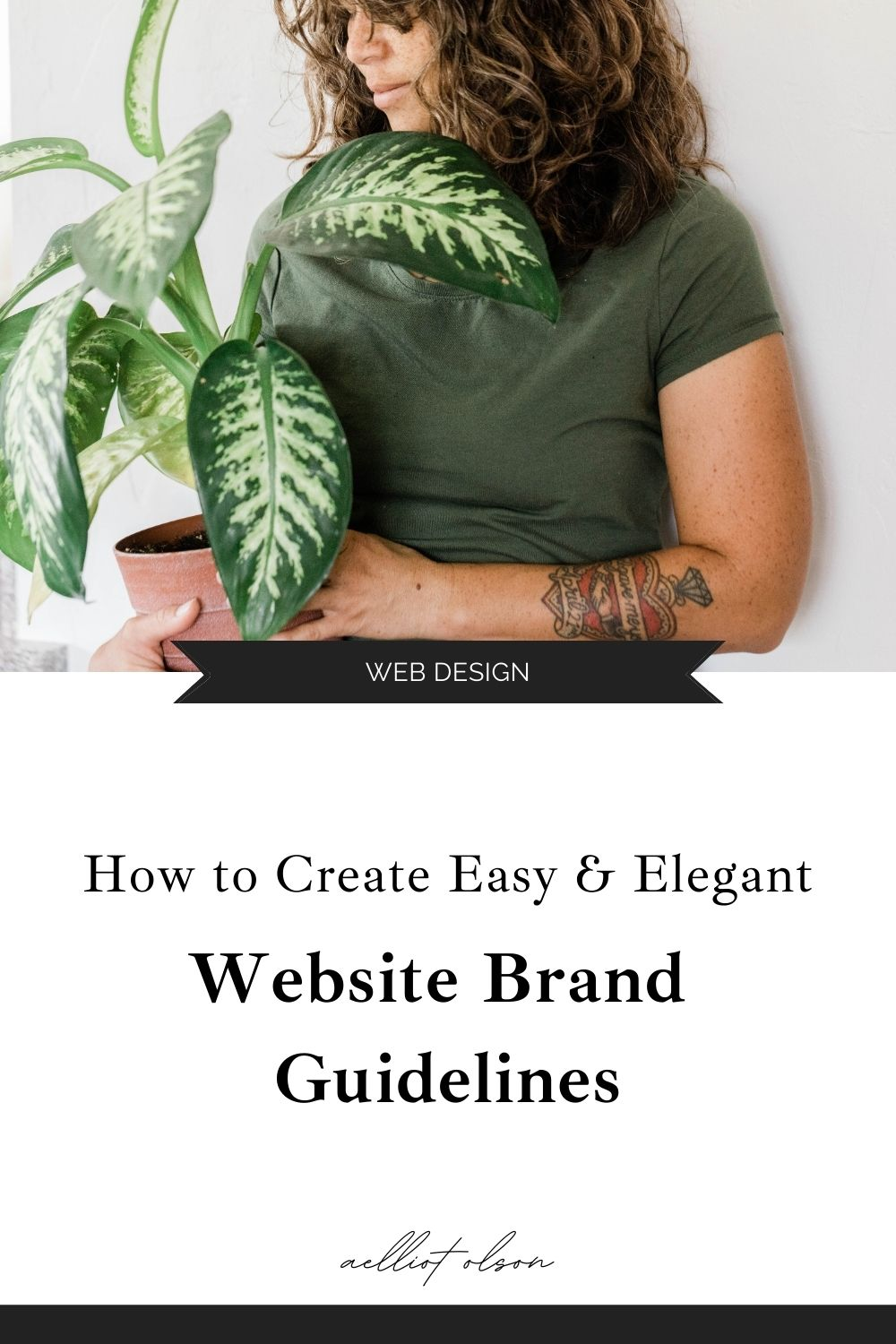 website brand guidelines template guide