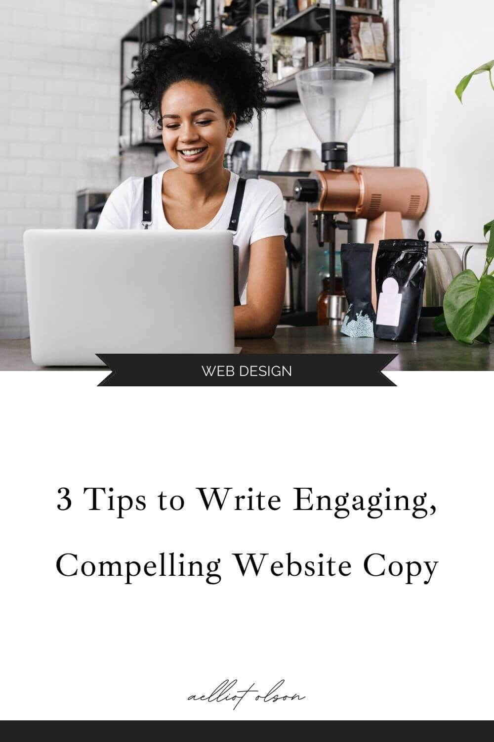 clear compelling website copy