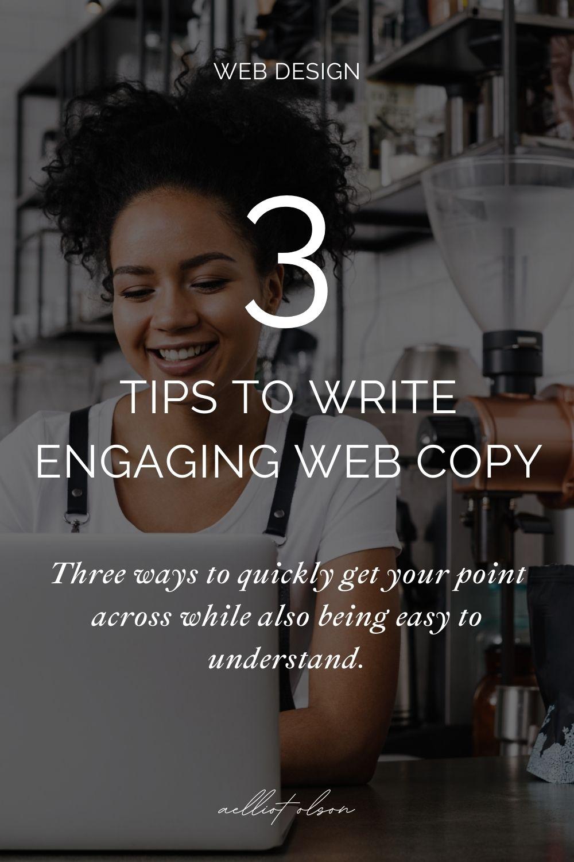 Compelling website copy | studio anansi