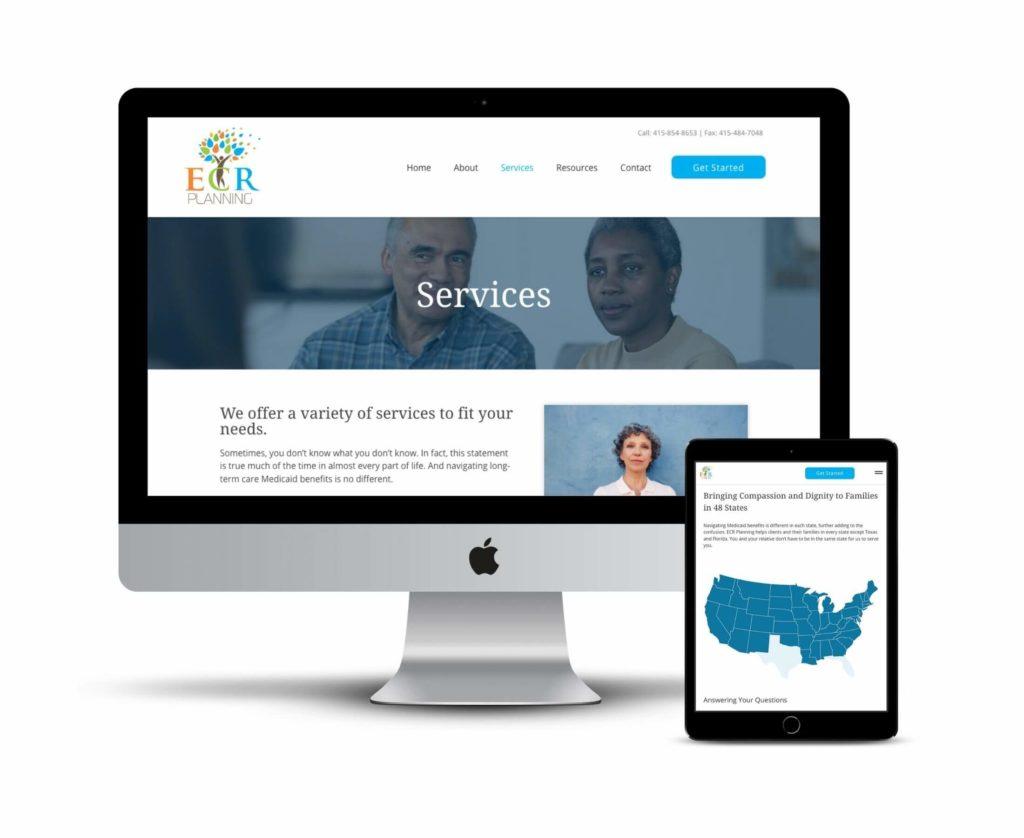 Small business WordPress website Portland Oregon